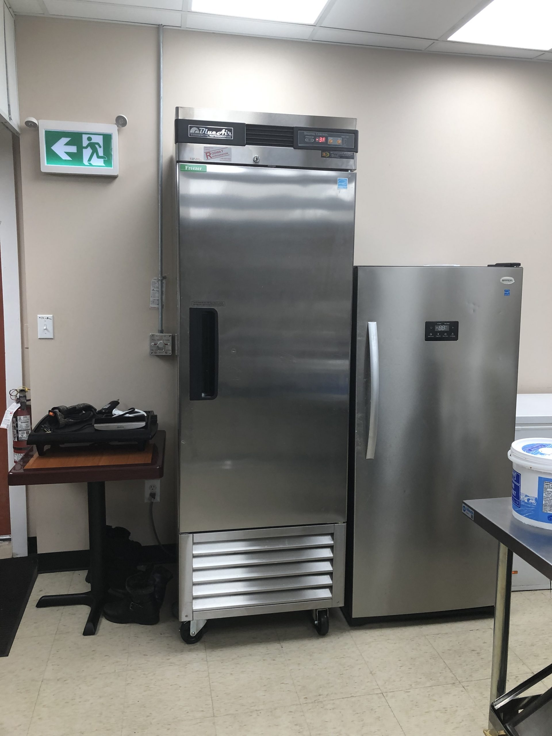 Commercial kitchen from a restaurant for rent